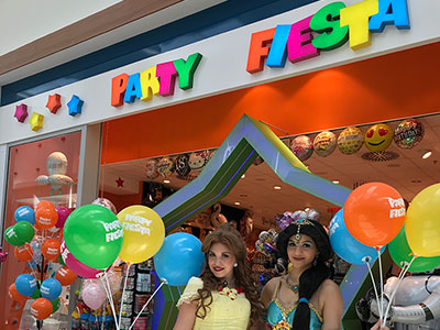 Neue Filiale von Party Fiesta in der Mall of Berlin